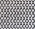 Expanded Steel Grille Mesh- Silver Powder Coated - 1220mm x 914mm x 1mm